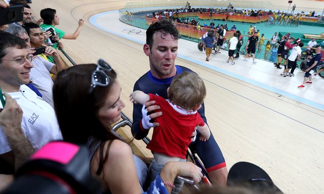 Mark Cavendish ends long wait for Olympic medal to leave wife Peta ...