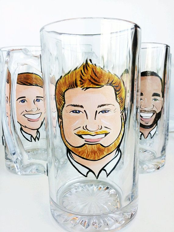 Cool Groomsmen Gift  Original Caricature by crystalpeacestudio, $55.00 Perfect for Drew