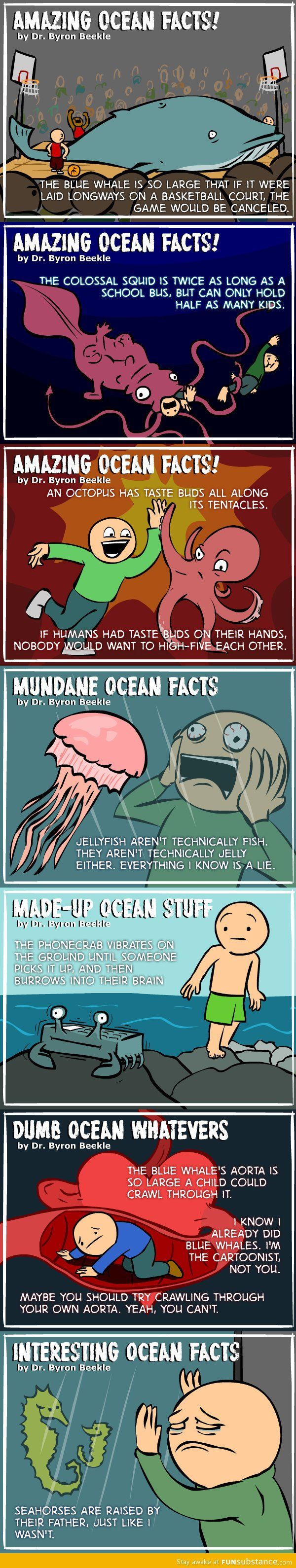 Mind Blowing Ocean facts