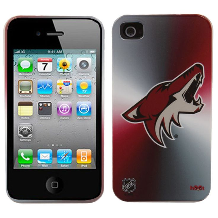 Arizona Coyotes Glow of the Cup iPhone 4/4S Case - Sedona Red