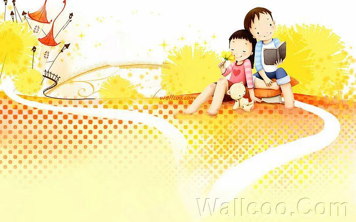 Kim Jong Bok Illustrations(Vol.04) : Sweet Puppy Love   - Puppy Love - Sweet Lovers and Cartoon Couples pictures 2