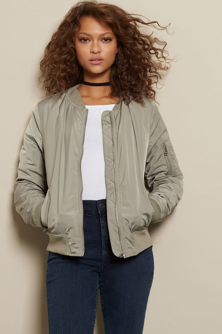On-point, inside and out - The Cozy Bomber Jacket