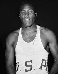Rafer Johnson Decathlon Silver Medalist - Melbourne Olympics 1956