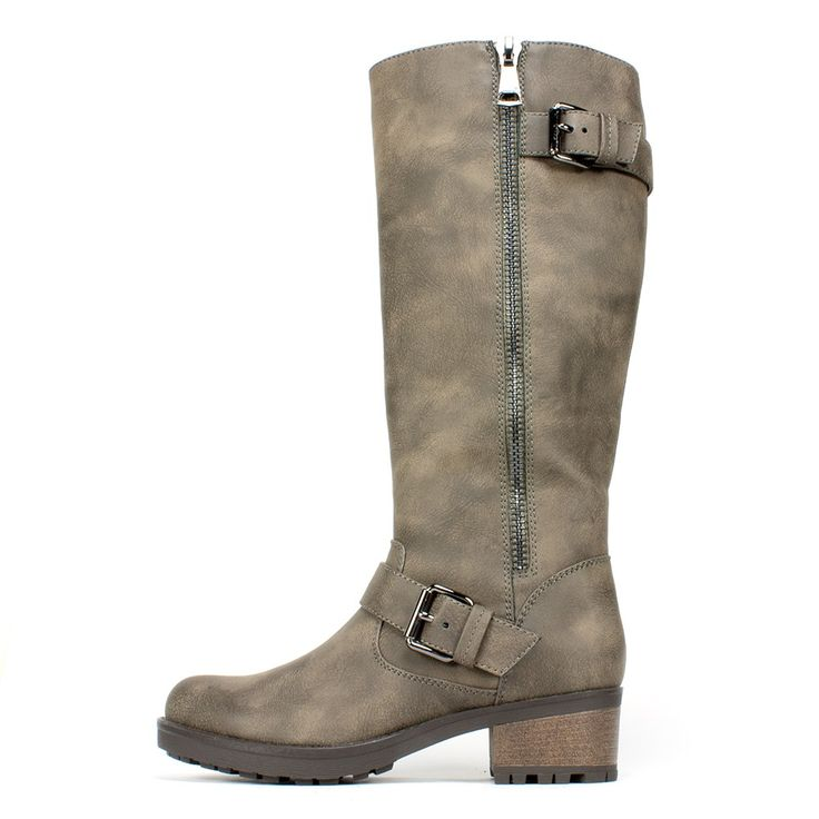 White Mountain Shoes Blackbird Stone Sueded Boot