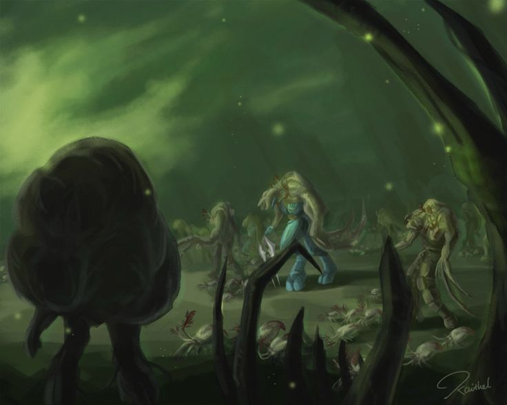 The Flood army by kaithel