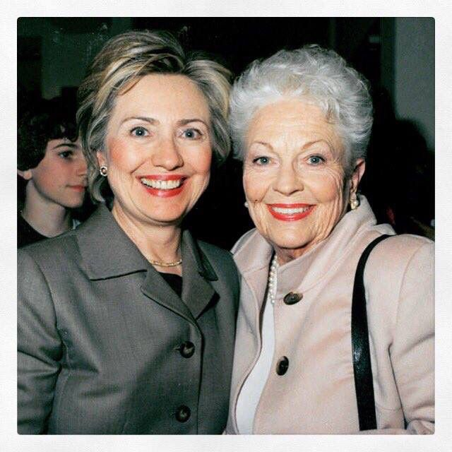Hillary Clinton with Texas Governor Ann Richards #Hillary #HillaryWomen #ImWithHer