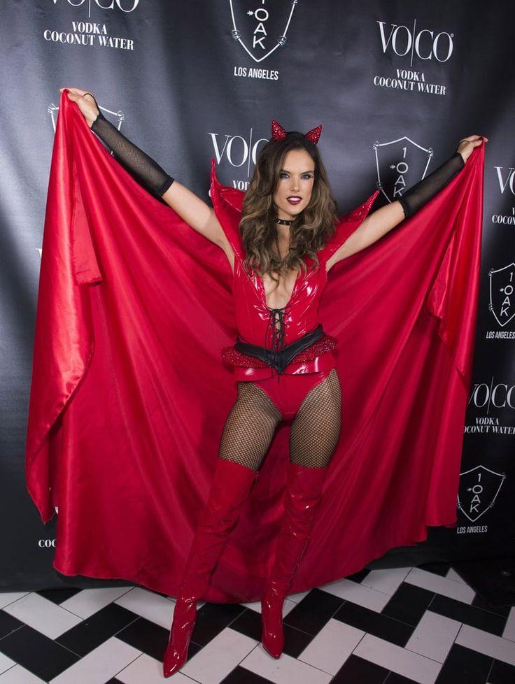 Alessandra Ambrosio as a Devil