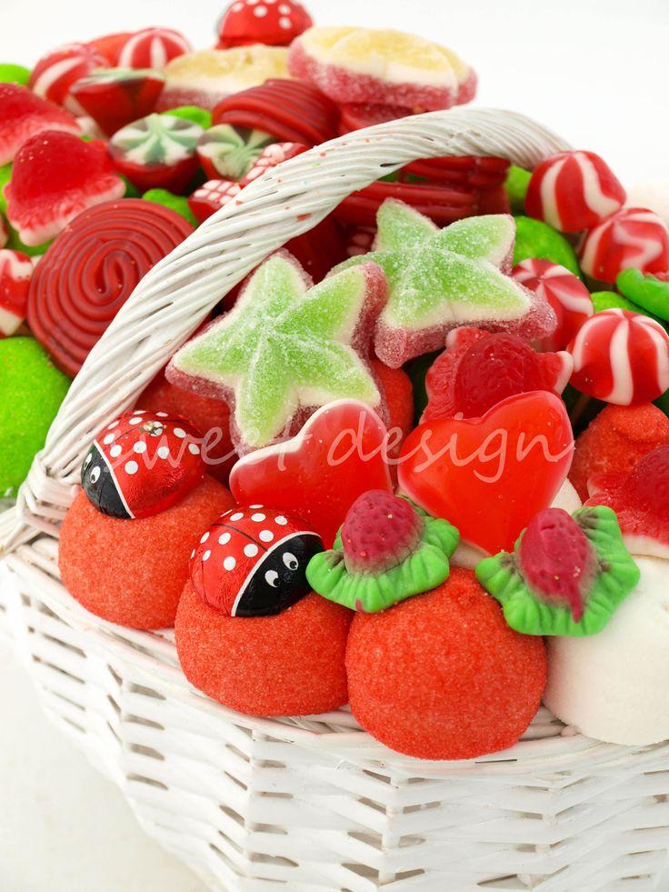 Cesta Blanca de Navidad Grande | Sweet Design