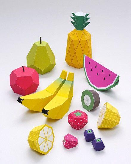 Shake My Blog   Des fruits à imprimer pour les enfants