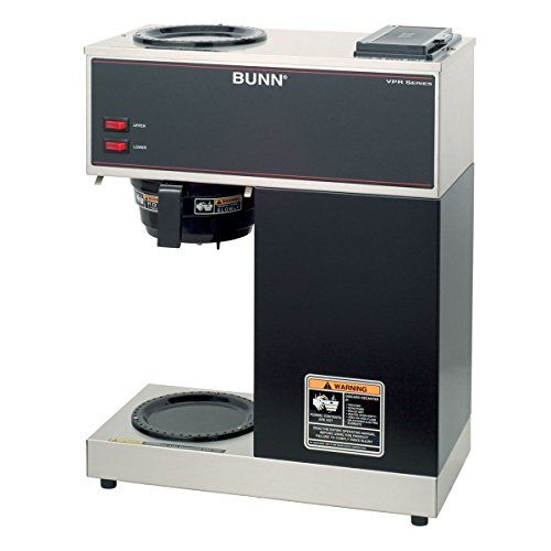 Bunn Commercial Coffee Maker Vpr Pourover With 2 Warmers - Black - 33200-0000 *** Check out this great product.