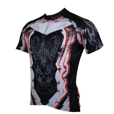 Men Skull Style Cycling Jerseys Quick Dry Ropa Ciclismo Bike Clothing Bicycle Maillot Ciclismo Sportswear