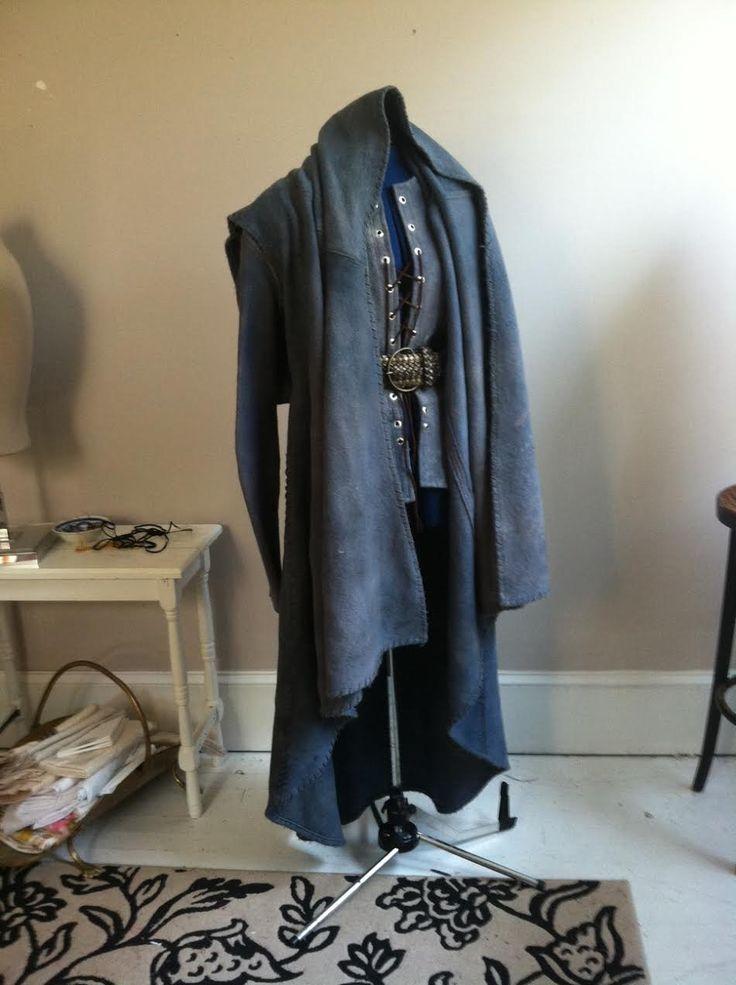 Greyjoy cloak and jerkin by Lorigami #gameofthrones #greyjoy