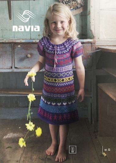The Island Wool Company- Faroese By Design - Nordic By Nature - Girl's Dress