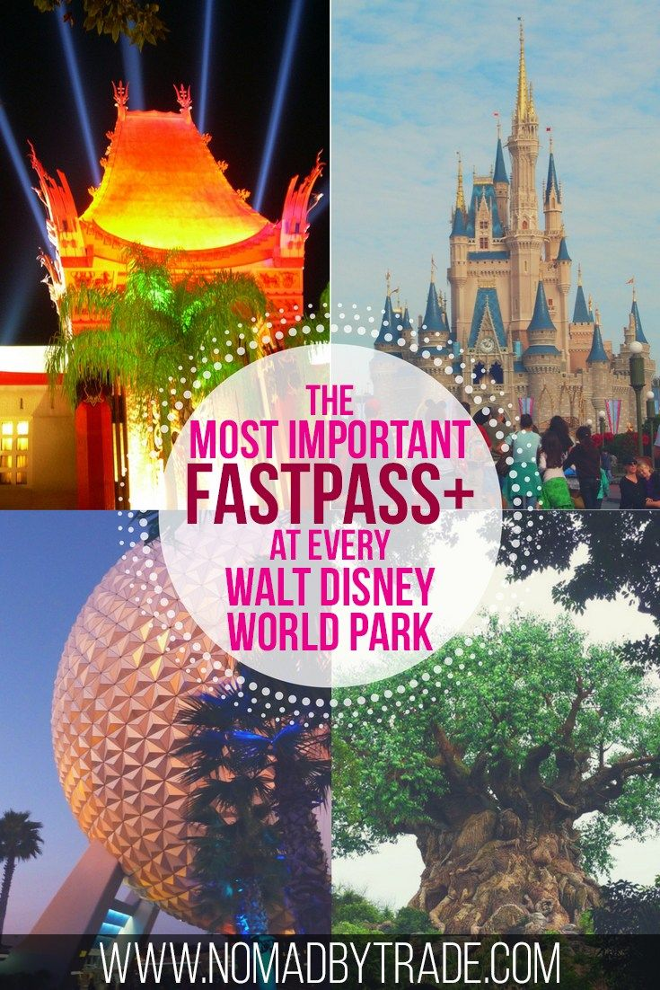 Book FastPass+ reservations for the best attractions at every Disney World park with this guide. Walt Disney World | Magic Kingdom rides | Epcot rides | Hollywood Studios rides | Animal Kingdom rides
