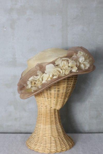 アンティークならではの風合いが愛おしいflower head dress ヘッドドレス ヘッドアクセ vintage