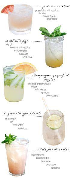 Delicious Homemade Summer Cocktail Recipes