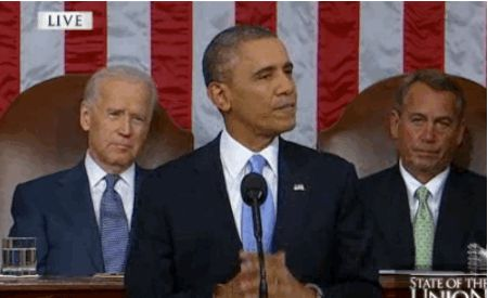 9 Things Joe Biden Did At The State Of The Union That Were More Interesting Than Obama's Speech (Not hating on Obama... I just have an unhealthy obsession with Biden)