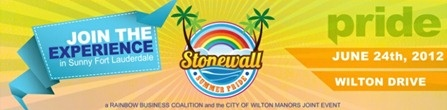 SunServe to be primary beneficiary of Stonewall Summer Pride at June 24 festival in Wilton Manors