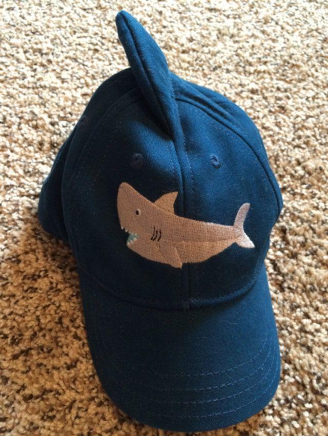 c56d189f589cd Gymboree Shark fin Baseball Cap Hat
