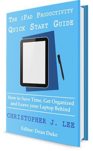 iPad Productivity Quick Start Guide