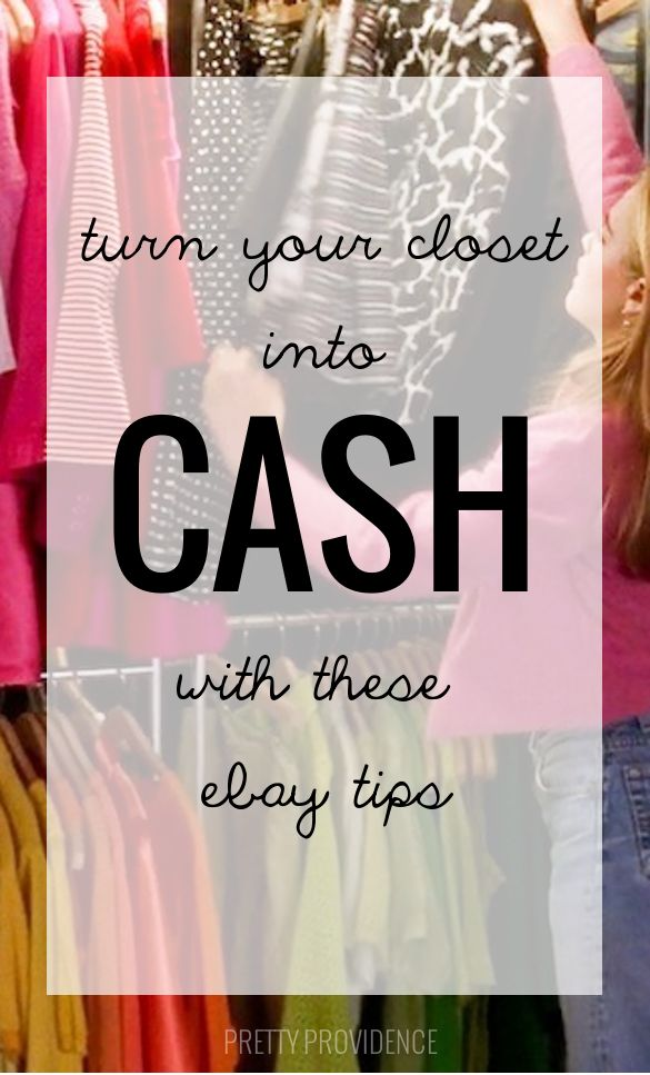 these ebay selling tips are gold! seriously, i can't wait to go through my closet and start making some muhlah!