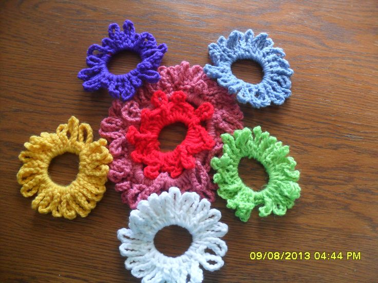 Crochet Hair Ties : crocheted hair ties Crochet Projects and More Pinterest