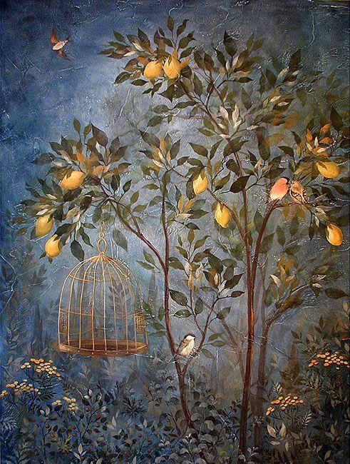 Garden Fresco Panel