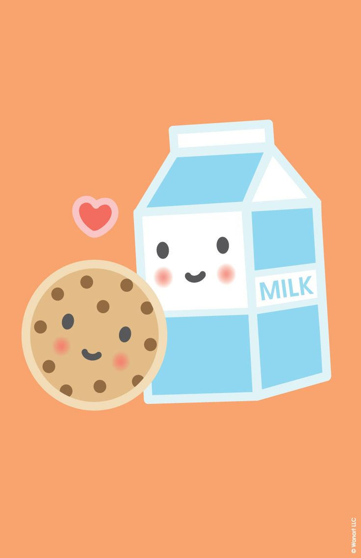 Poster - Milk & Cookie