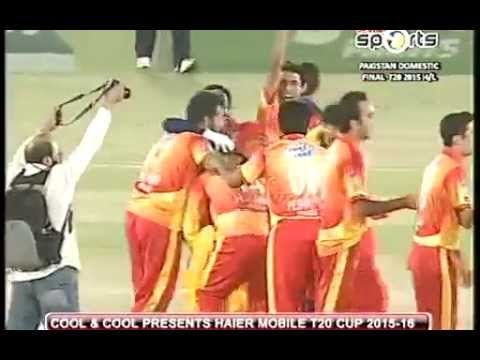 Final Peshawar vs Karachi Pakistan Domestic T20 Cup 2nd innings Highligh...