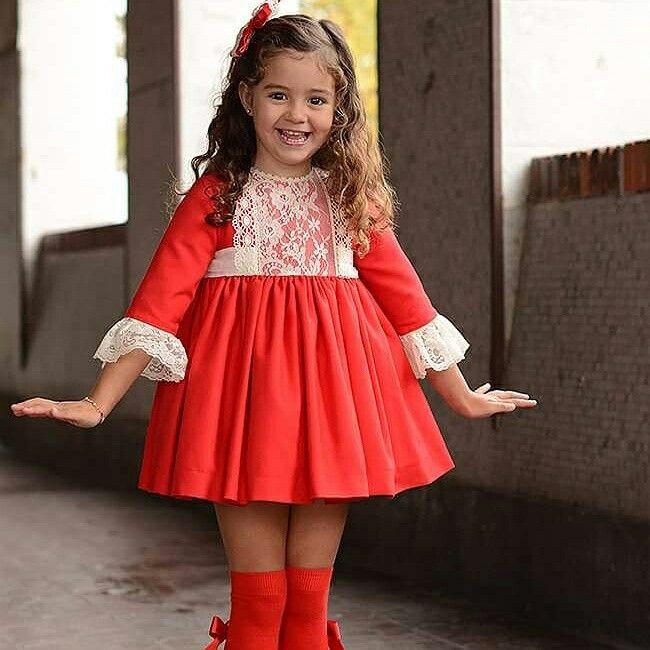 Vestido Carlota exclusivo pequeñajos gijon