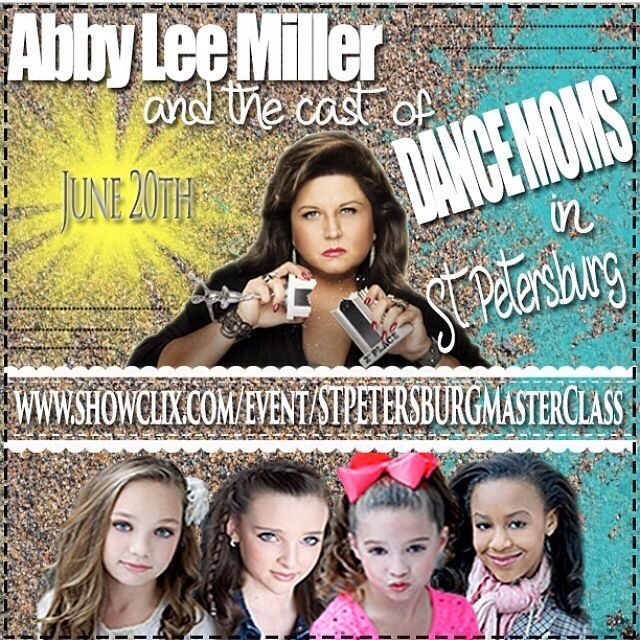 10 best meet and greets images on pinterest dance dance moms cant wait to meet you in st petersburg for tickets go to maddie zieglermackenzie m4hsunfo Gallery