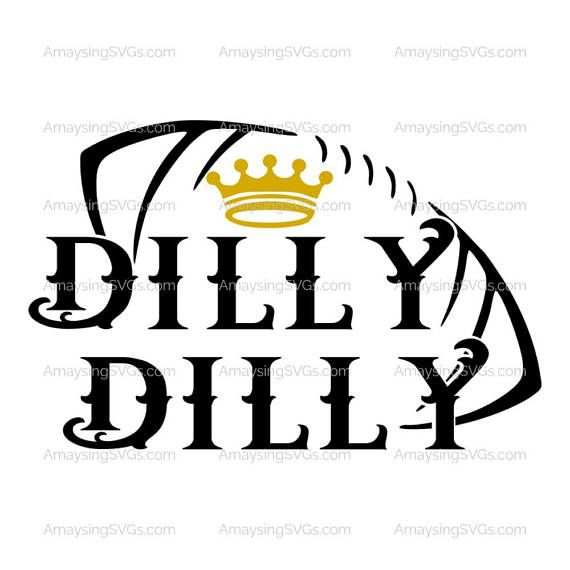 SVG - Dilly Dilly Football - Instant Download Cute funny svg perfect for Tshirts, Beer Mugs, pallet Signs, cards, decals and more. Amaysing SVGs is proud to create svgs that are easy to cut and layer for a perfect project outcome every time.  More Beer SVGs : http://etsy.me/2pCzeUC