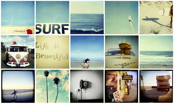 Polaroid Surf by Robert Reader