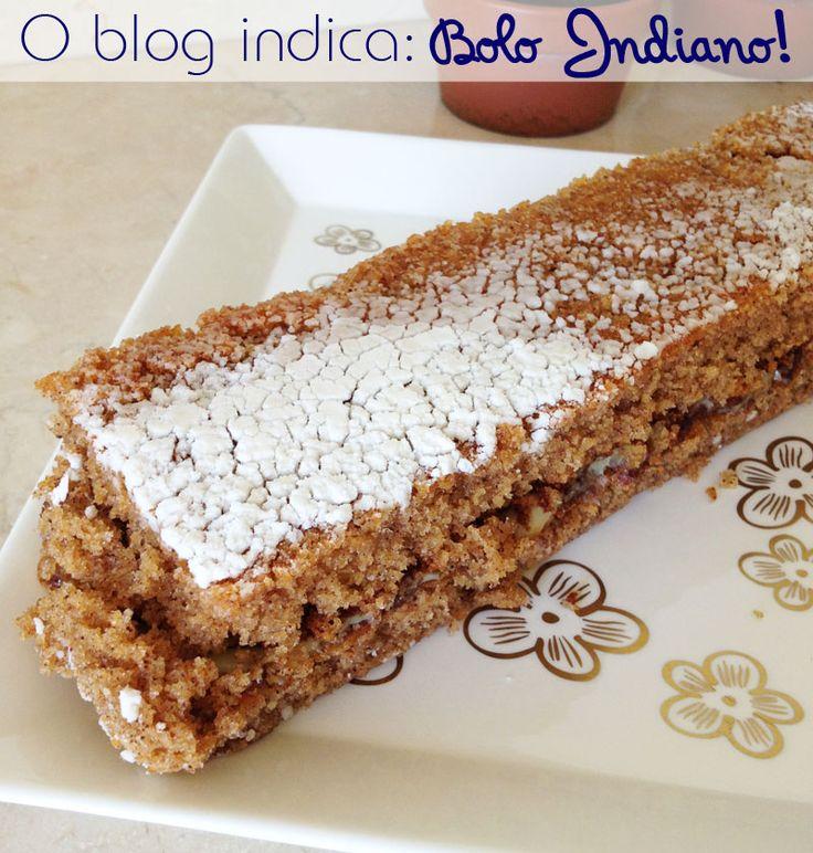 Receitinha de sábado: bolo indiano | Blog da Mariah