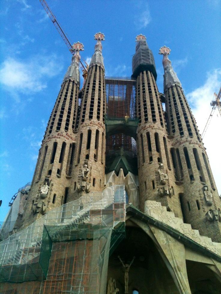 La Sagrada Familia... Barcelona/ 2013