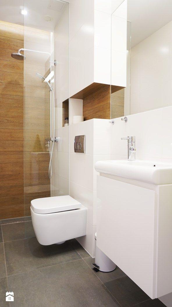 Wystrój wnętrz - Mała łazienka - pomysły na aranżacje. Projekty, które stanowią prawdziwe inspiracje dla każdego, dla kogo liczy się dobry design, oryginalny styl i nieprzeciętne rozwiązania w nowoczesnym projektowaniu i dekorowaniu wnętrz. Obejrzyj zdjęcia! - strona: 3
