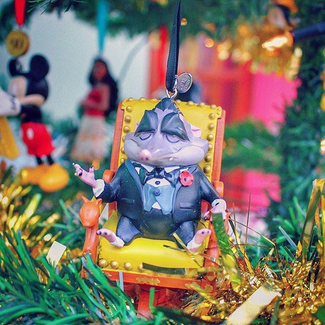 Disney Sketchbook Christmas Ornament Big Zootopia Mr