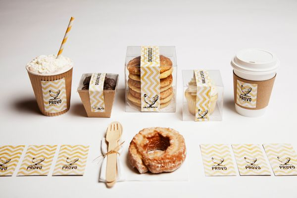 PROVO BAKERY Identity Brand by elyse taylor, via Behance