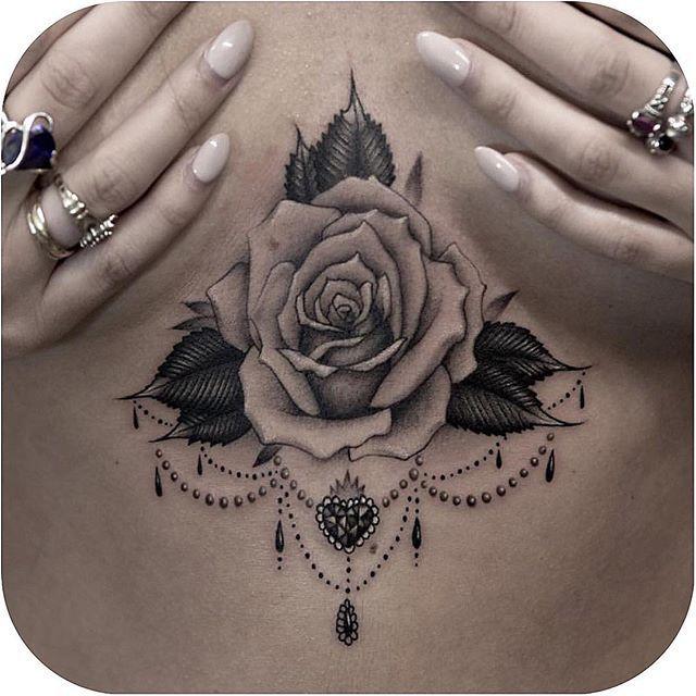 Pretty one made by @lazerliz #tattoodo