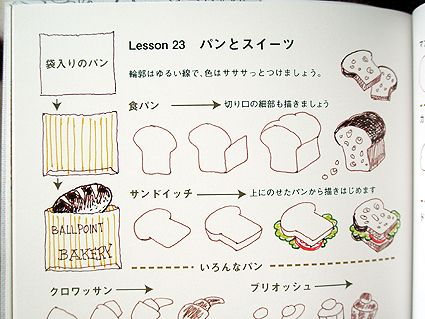 JAPANESE BALLPOINT (DOODLE) BOOK