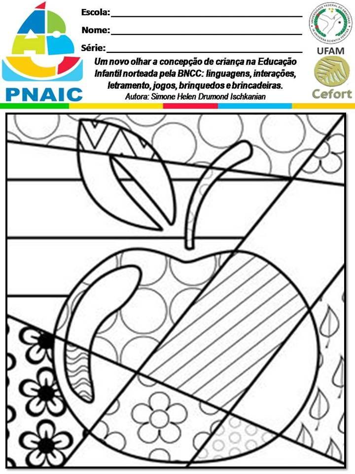 Slide33 Jpg 720 960 Atividades De Artes Visuais Arte Matematica