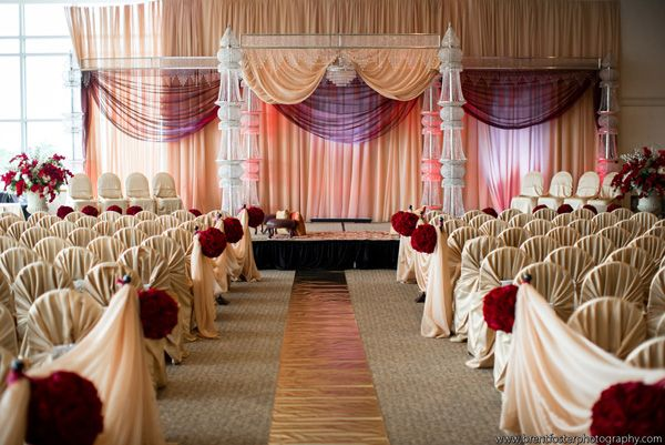nice and not excessive mandap
