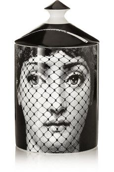 Fornasetti Burlesque Thyme, Lavender and Cedarwood scented candle | NET-A-PORTER