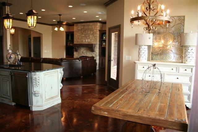 Dining room tableDining Room