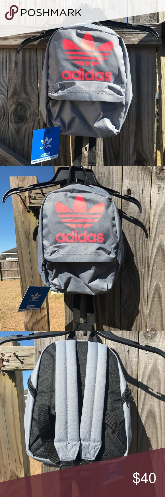 Brand New Adidas Backpack🎉 Accepting Offers🎈 Brand New Adidas Small National Backpack🎉 W/ tags (Lifetime Warranty)✨ adidas Bags Backpacks