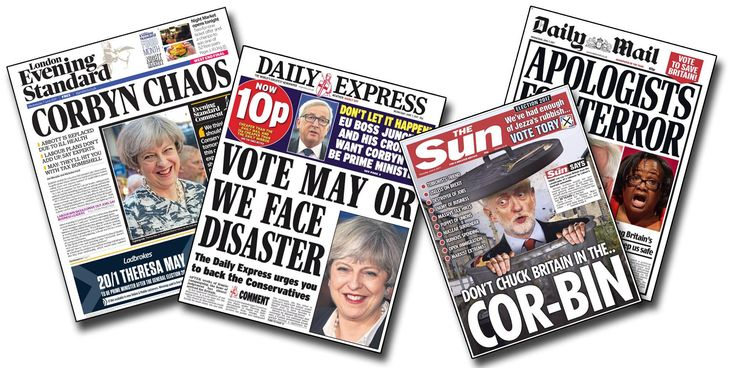 """A study from the Centre for Research in Communication and Culture at Loughborough University has found that newspapers and broadcasters were biased against Labour in a campaign which was """"more negative"""" and """"more Presidential"""" than 2015."""