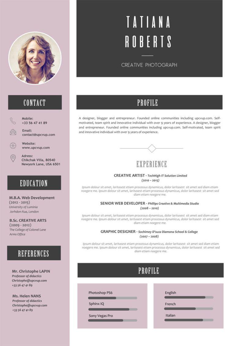 Exemple CV Personnalisable à télécharger format Word ...