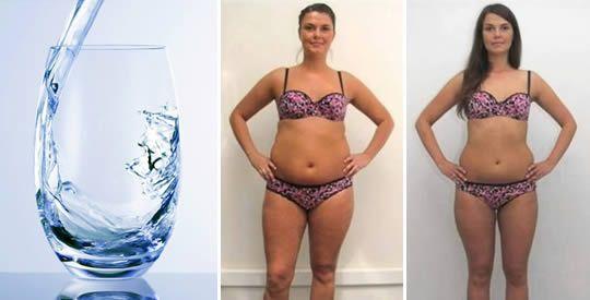 Come dimagrire bevendo acqua | Rimedio Naturale