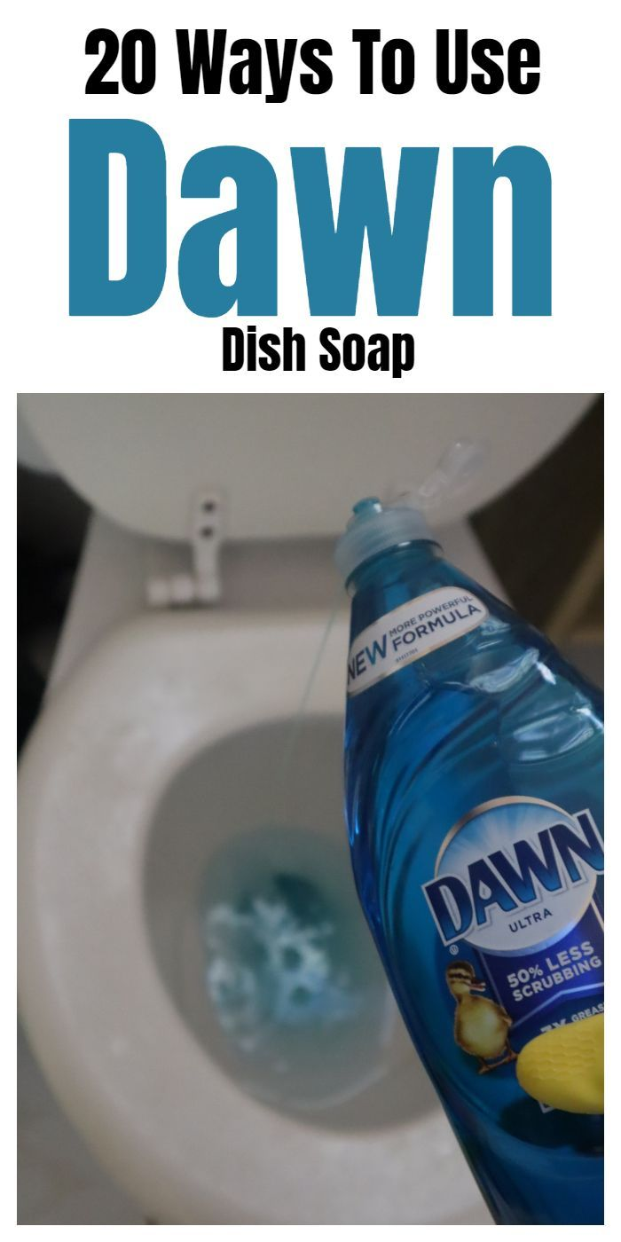 Reinigungstipps 20 Ways To Use Dawn Dish Soap In 2020 | Household Cleaning Tips, Deep Cleaning Tips, Cleaning