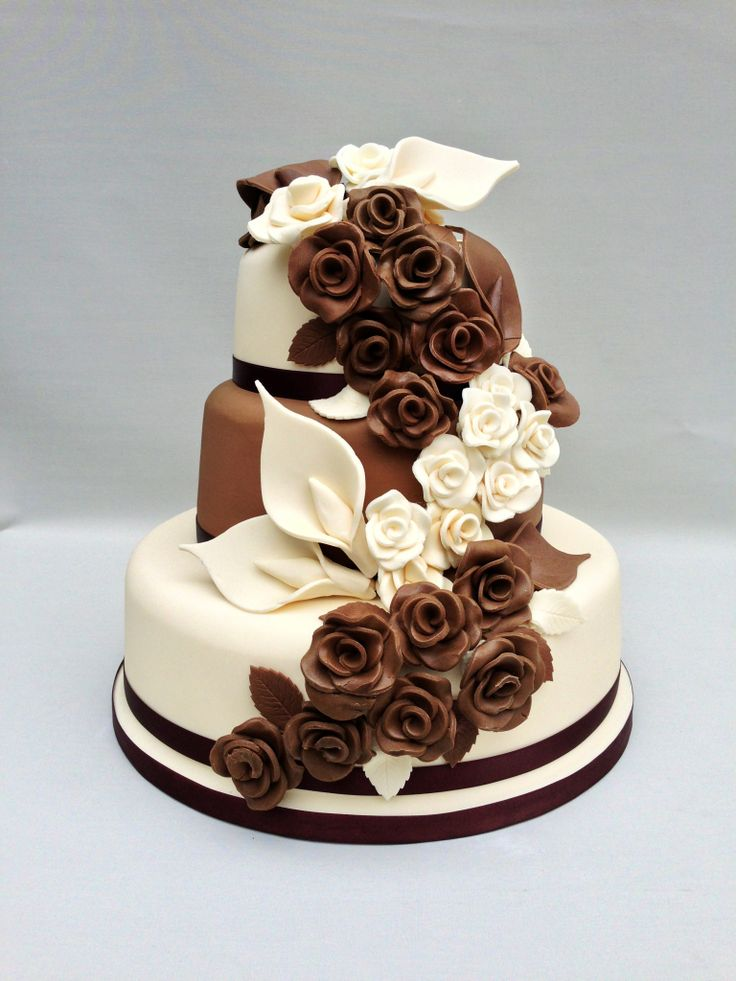 Images Of Chocolate Flowers A milk and white choco...